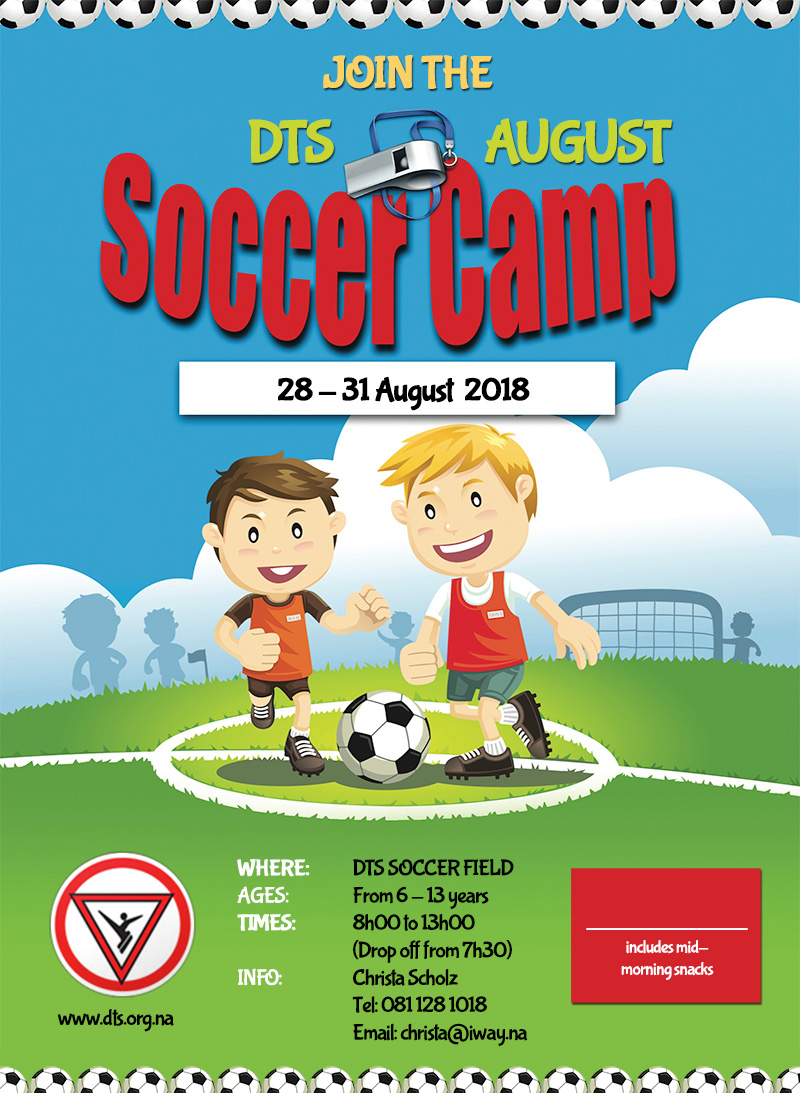 DTS Soccer Camp 2018 August