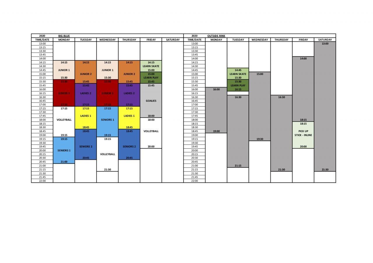 Kamikaze-2020-Schedule