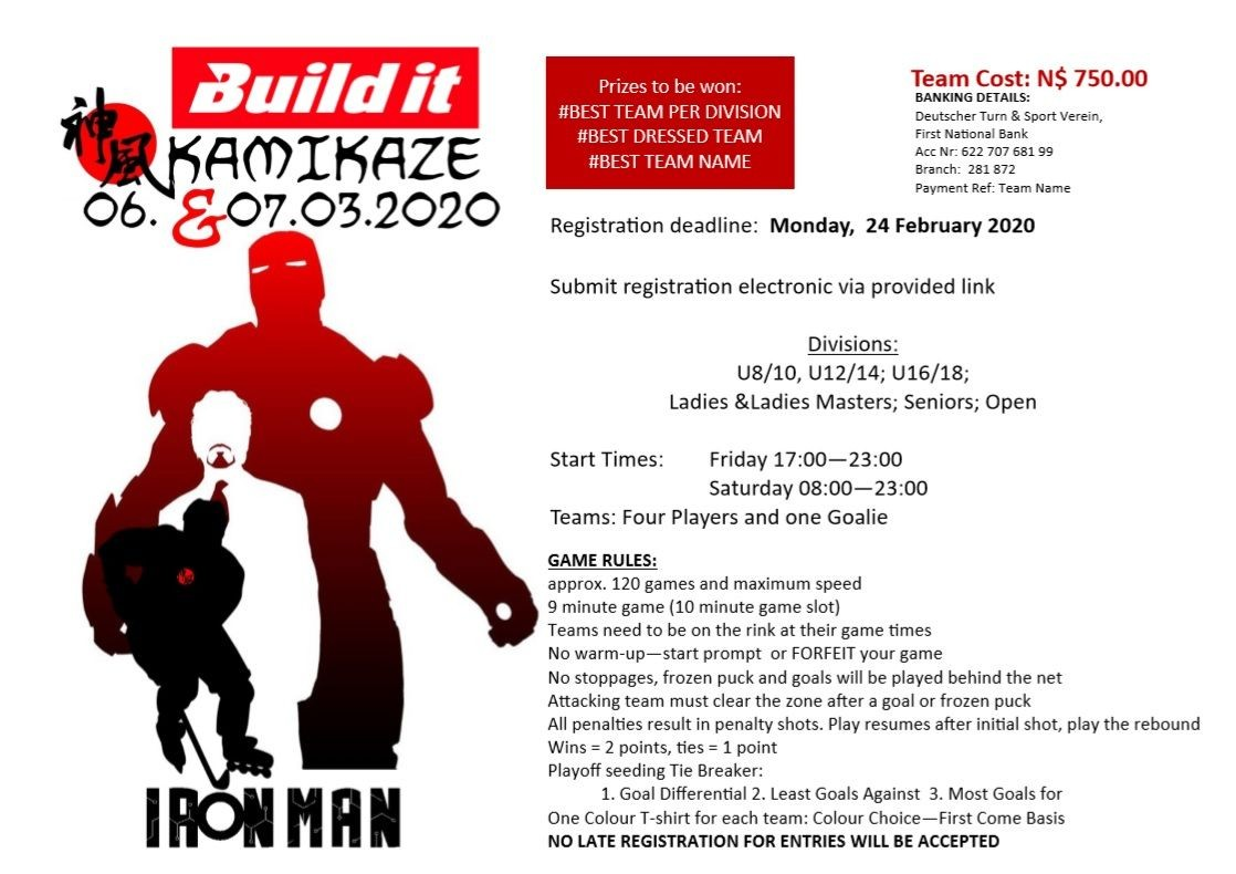 BUILD IT - IRON MAN COMPETITION